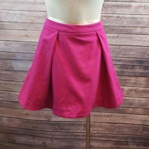 KATE SPADE SATURDAY Deep Pleat Mini Skirt size 8